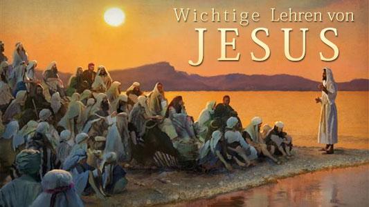 Image of Cannstatt Study Hour 2014 Q3: Wichtige Lehren von Jesus