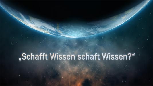 "Image of ""Schafft Wissenschaft Wissen?"""