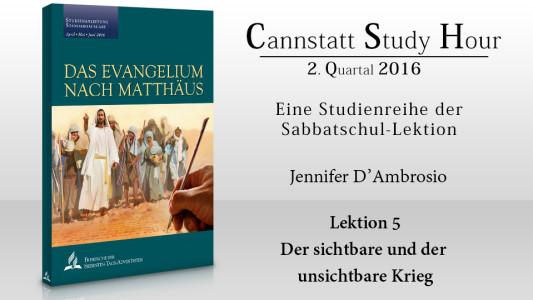 'Das Evangelium nach Matthäus (CSH 2016 Q2): 5. Der sichtbare und der unsichtbare Krieg' ansehen