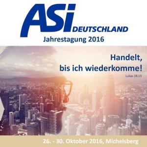 ASI Jahrestagung 2016