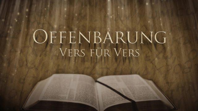 Image of Offenbarung Vers für Vers