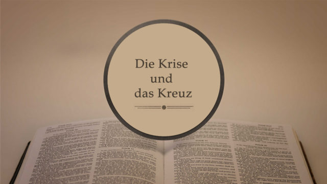 Image of Die Krise und das Kreuz (Predigtserie über den Galaterbrief)