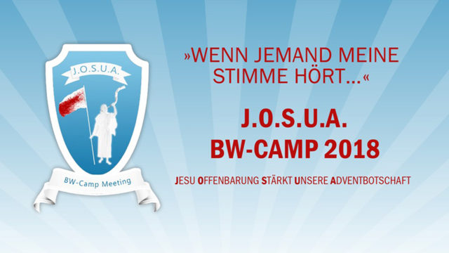 Image of J.O.S.U.A. BW-Camp Meting 2018: Offenbarung 3,14-22
