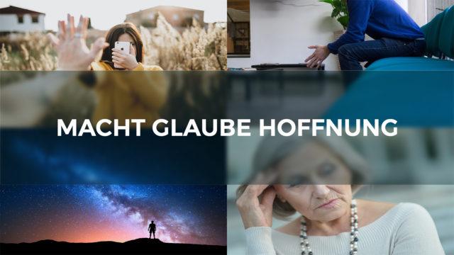 Image of MACHT GLAUBE HOFFNUNG